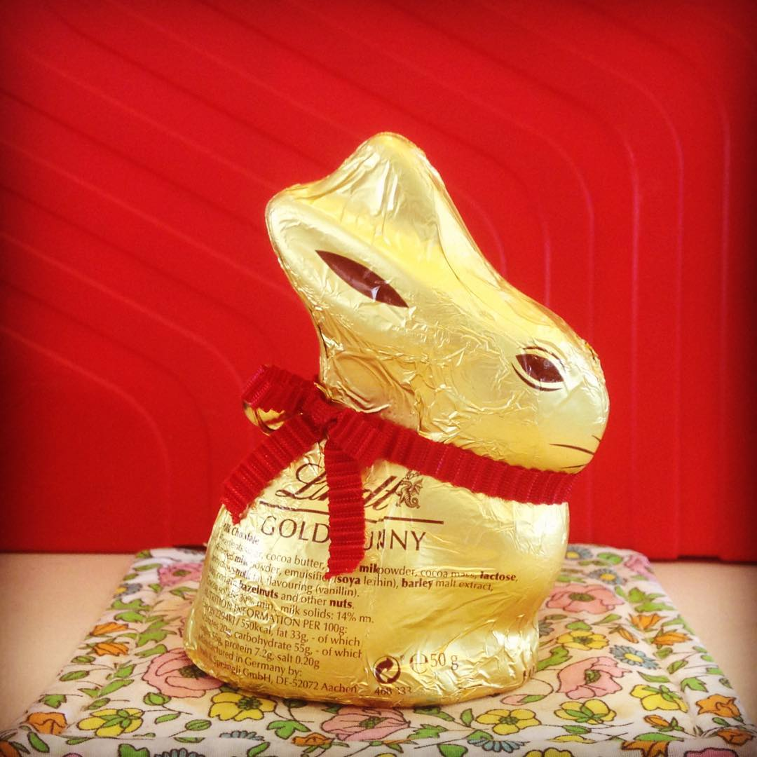 Happy Easter  happyeaster lindtbunny
