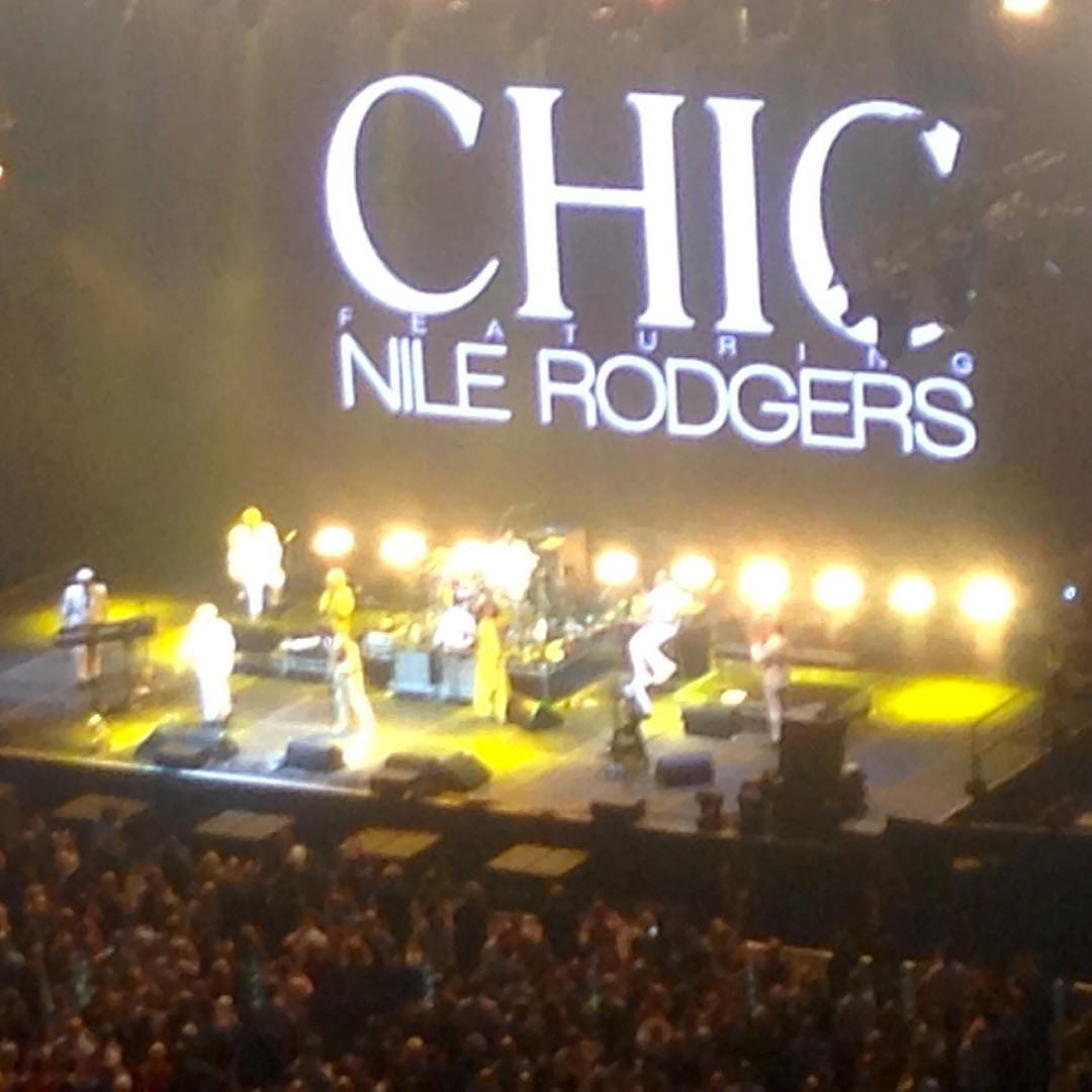 Chic and Nile Rodgersmagical Bluefest theo2 o2arena chicandnilerodgers nilerodgers nightouthellip