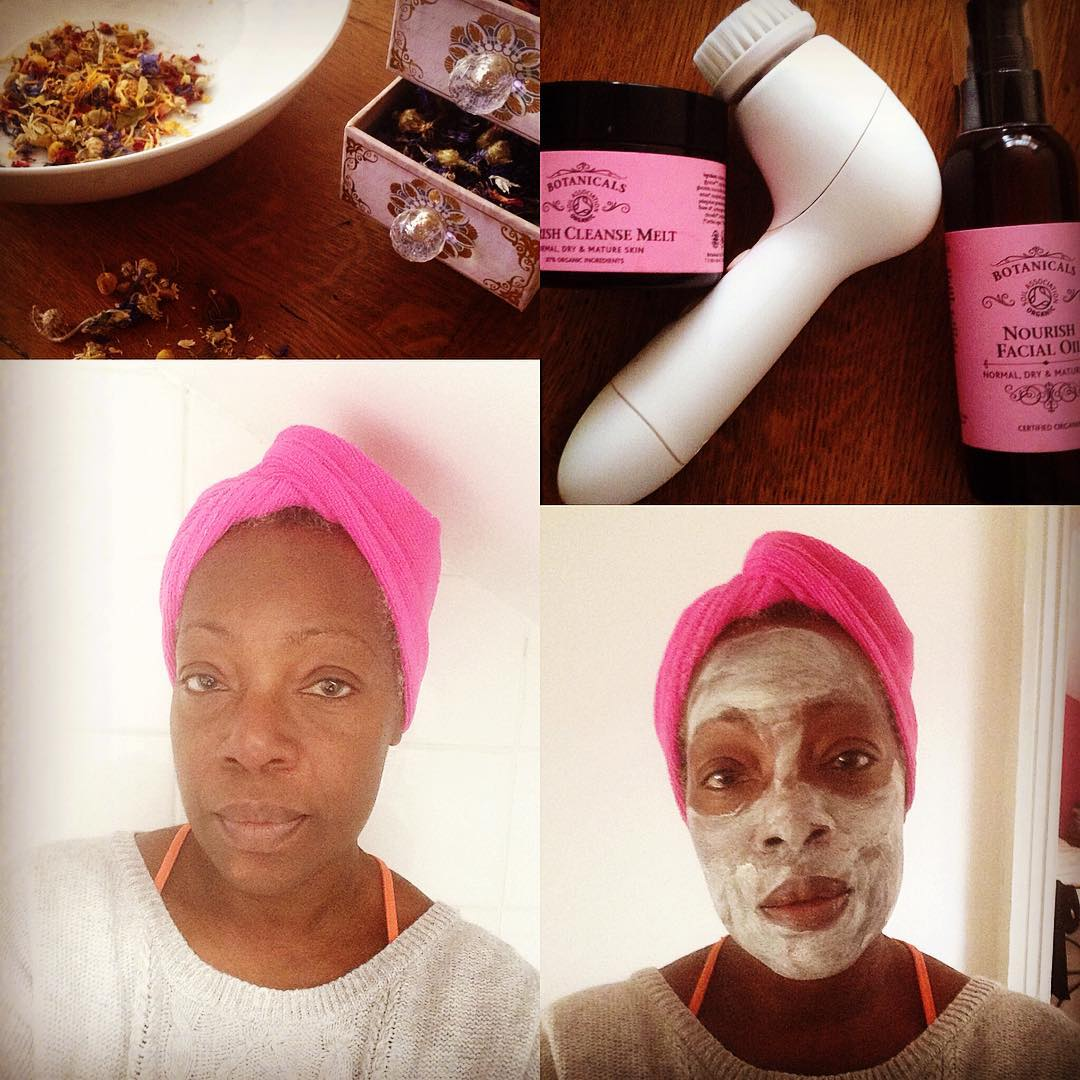 Sundaya day to destress and recharge selfcare selffacial facemask herbalfacesteamhellip